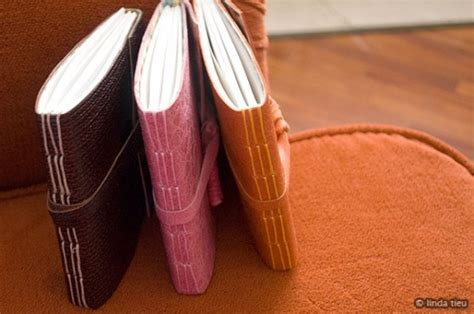 How To Make Handmade Journals - stitch line 12 more diy notebooks to make