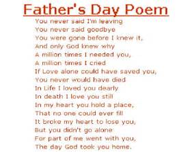 Father s day poem mind body and soul