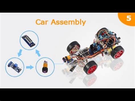 arduino assembly tutorial smart car robot kit for arduino assembly tutorials 05 line