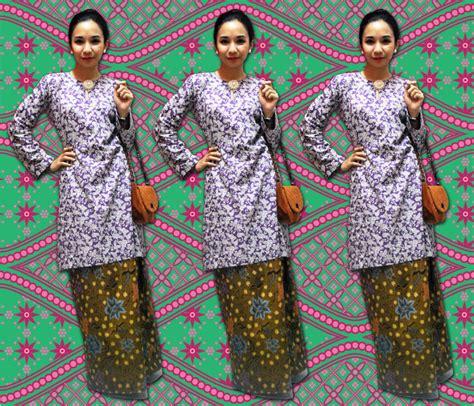 Baju Melayu Stail Johor misschqa says baju kurung johor