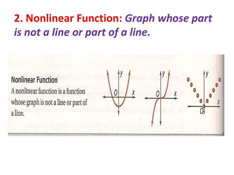 non linear pattern exles ppt 4 3 patterns and non linear functions powerpoint