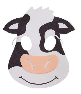 printable mask cow 17 best images about animal masks on pinterest animal