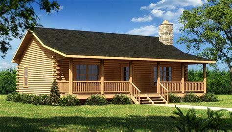 log cabin modular homes prices