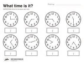 Click the link above to download our free printable telling time