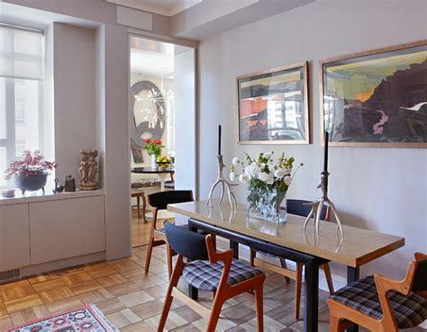 esstisch für kleine wohnung schlafzimmer design braun