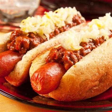 recipes with dogs chili dogs with sauerkraut recipe