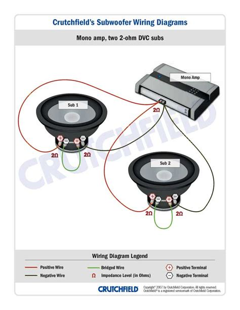 4 4 ohm subwoofer wiring diagram ohm question gm forum buick cadillac chev olds gmc