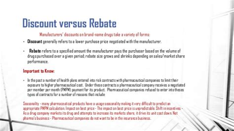 Pharmaceutical Biotech Pricing Strategies Sales Rebate Agreement Template