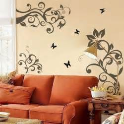 Bedroom Wall Patterns by Bedroom Wall Stencils Ideas