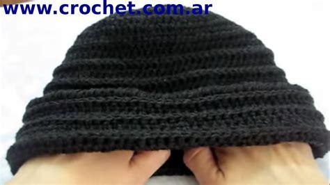 gorros de crochet como tejer un gorro en tejido crochet tutorial paso a paso
