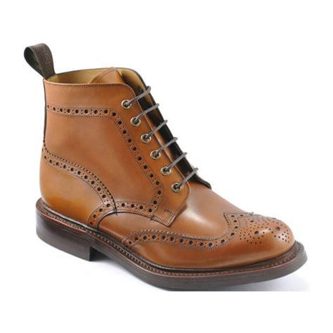 loake mens boots loake loake bedale brogue b10 mens boots loake