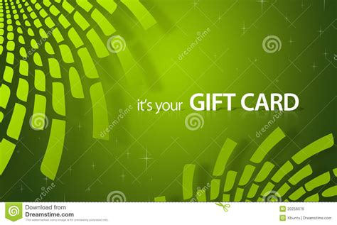 Green Gift Cards - green elements gift card royalty free stock image image 20256076
