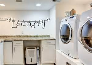 Laundry wall decals laundry room decor laundry vinyl decals wall