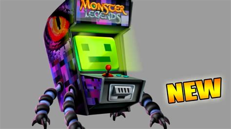 video de monster arcade monster legends future monster legendario