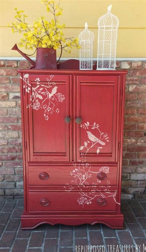 red armoire wardrobe 25 best ideas about red dresser on pinterest red