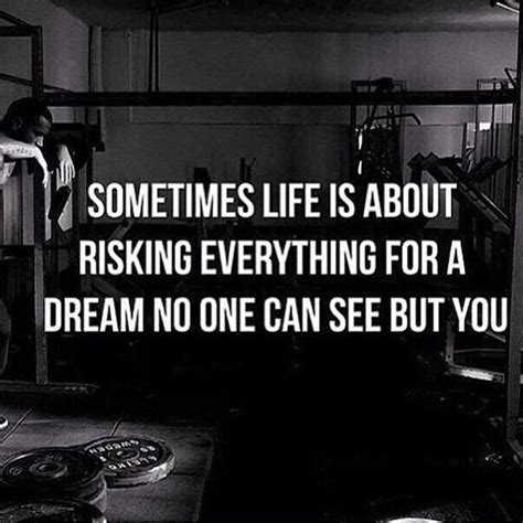 sometimes is about risking everything for a no