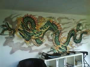 Dragon Wall Murals art wall decor 2011 05 15