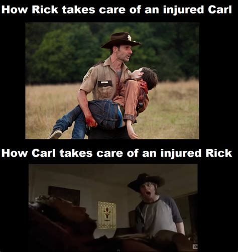 Carl Walking Dead Meme - the walking dead carl meme google search the walking