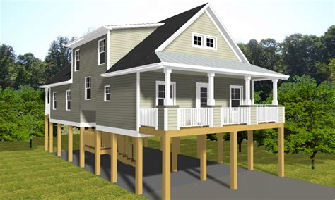 beach bungalow design beach cottage house plans on pilings luxury beach house
