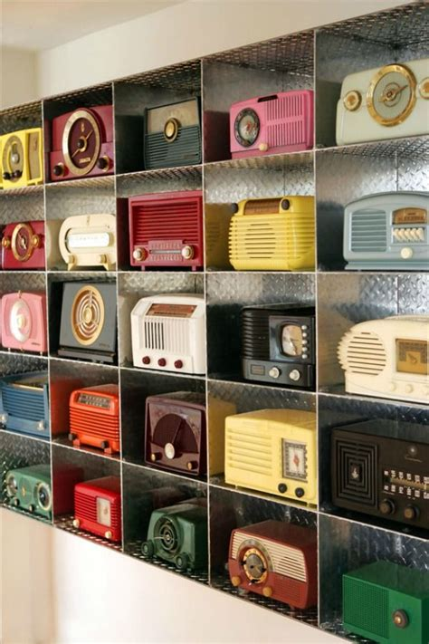 collections how to collect and display interesting items retro radios clock and retro