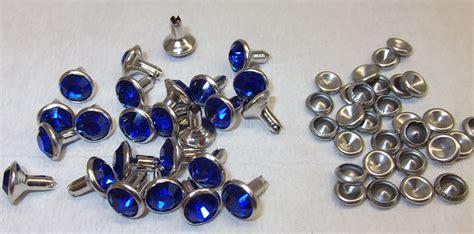 kristall tischle 50 chaton nieten ziernieten strassnieten 8mm mit kristall