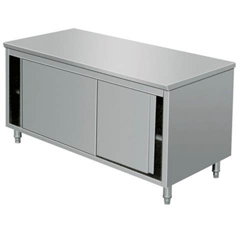 stainless steel cabinet doors eq stainless steel prep work storage cabinet sliding