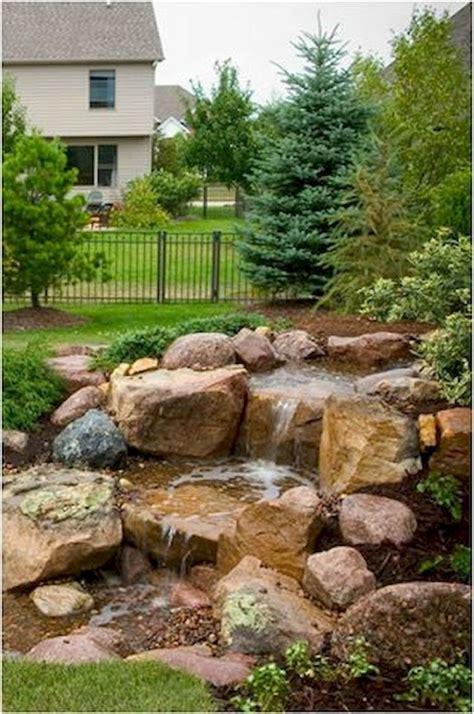 backyard inspirations 90 graceful backyard waterfall inspirations on a budget
