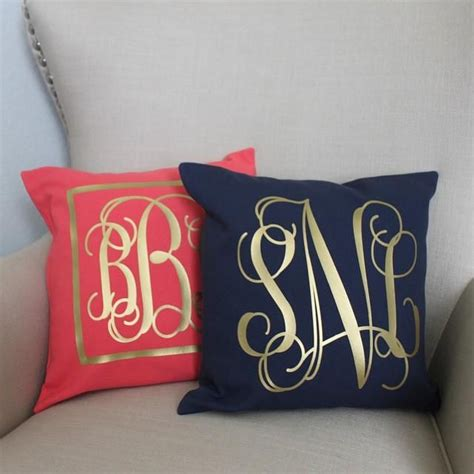 Monogrammed Pillows by 25 Best Ideas About Monogram Pillows On