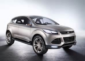 ford vertrek crossover concept to replace escape and kuga