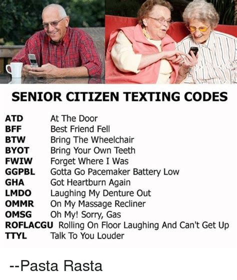 Get On The Floor Bring Out The by 25 Best Memes About Senior Citizen Texting Codes Senior