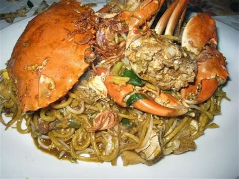 Kwetiau Goreng Pieces aceh crab noodle mie kepiting aceh