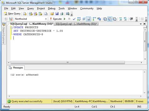 sql query tutorial for sql server sql