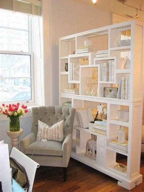 freestanding bookcase living room divider living room