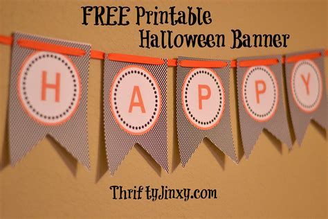 printable halloween birthday banner free halloween party printables banner buffet cards and