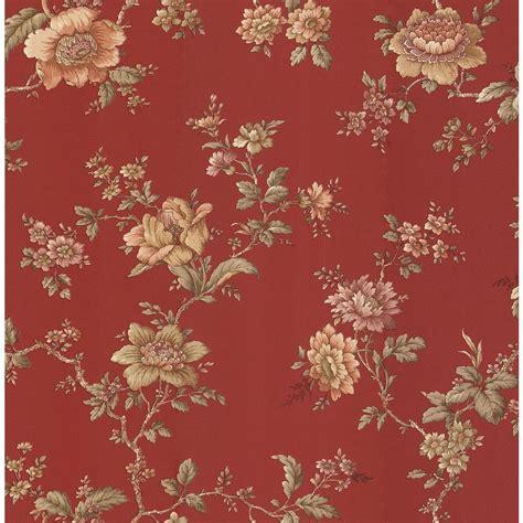 Home Depot Design Store Brewster Jacobean Floral Wallpaper 282 64014 The Home Depot