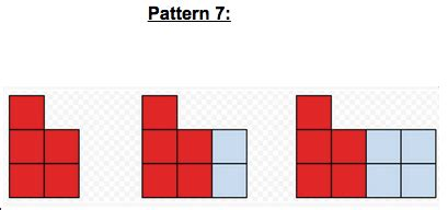 recursive pattern in math making math visual sbac practice activities patterns and