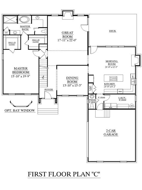 2 story house plans master bedroom downstairs 13 best images about ideas on pinterest 2nd floor large