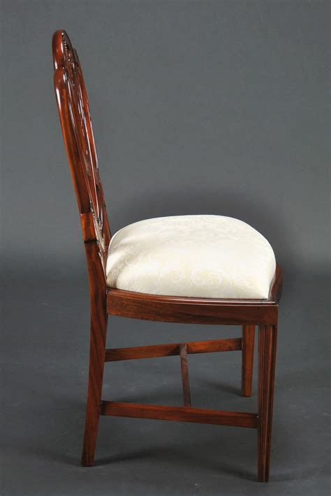 Sweetheart Chair by Small Vintage Size Sweetheart Sheild Back Dining Chairs
