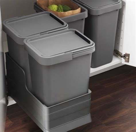under cabinet trash bins i would really like pull out garbage under my but