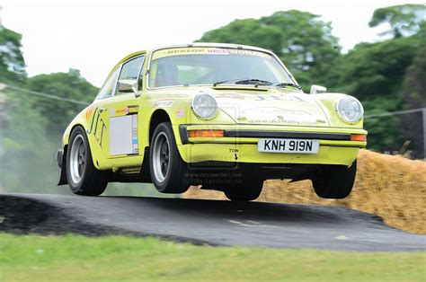 porsche rally car jump porsche 911 by willie j on deviantart