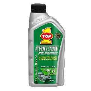 Oli Top1 Evolution Sae 5w 40 Api Sm Fully Synthetic Made In Usa 1liter top 1 evolution 0w 20 api sn oli top 1