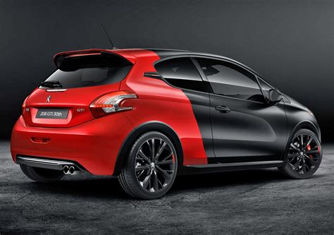 pug gti peugeot 208 gti 30th anniversary at goodwood fcia cars in america