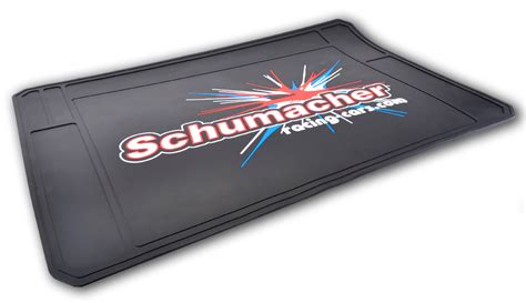 schumacher releases new rubber pit mat liverc r c