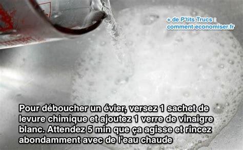 Deboucher Un Evier Vraiment Bouché by Comment D 233 Boucher Un 201 Vier Avec De La Levure Chimique