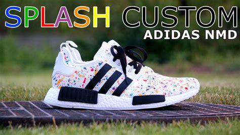 angelus paint on boost poradnik tutorial adidas nmd multicolor splash custom