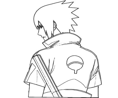 sasuke uchiha 19 coloring crafty teenager