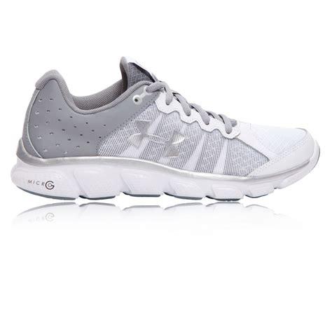 g sport shoes armour micro g assert 6 womens white running sports