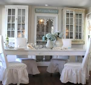 How To Make Dining Room Chair Slipcovers shabby chic beach cottage on casey key florida beach