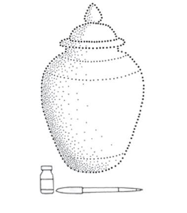 belajar menggambar bentuk silindris dengan berbagai macam teknik