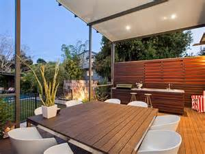 outdoor living design with bbq area from a real australian